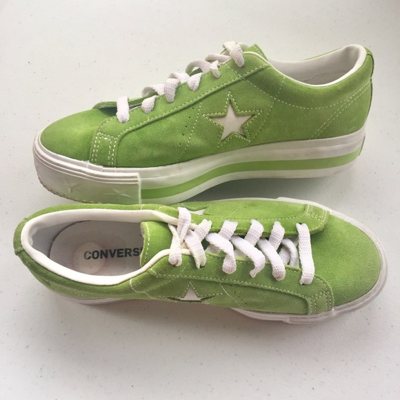 2eb54da85959 Converse Other - Converse One Star Green Suede Low Top Unisex Shoe